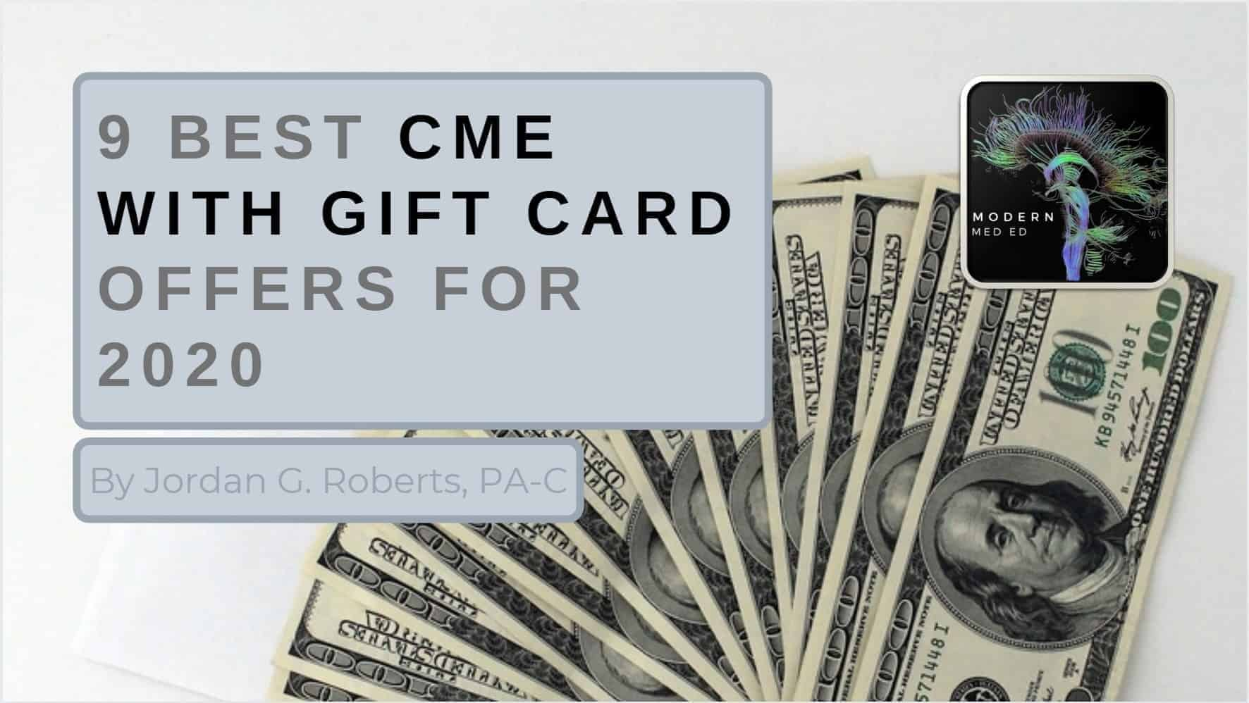 Best CME Gift Card Offers for 2020
