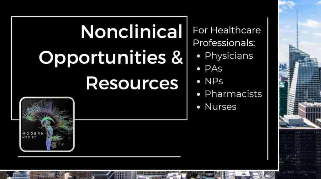 Best Non Clinical Resources for Healthcare Professionals