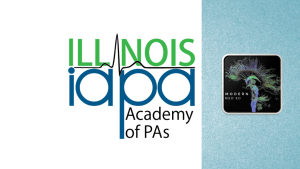 IAPA and Modern MedEd Logos