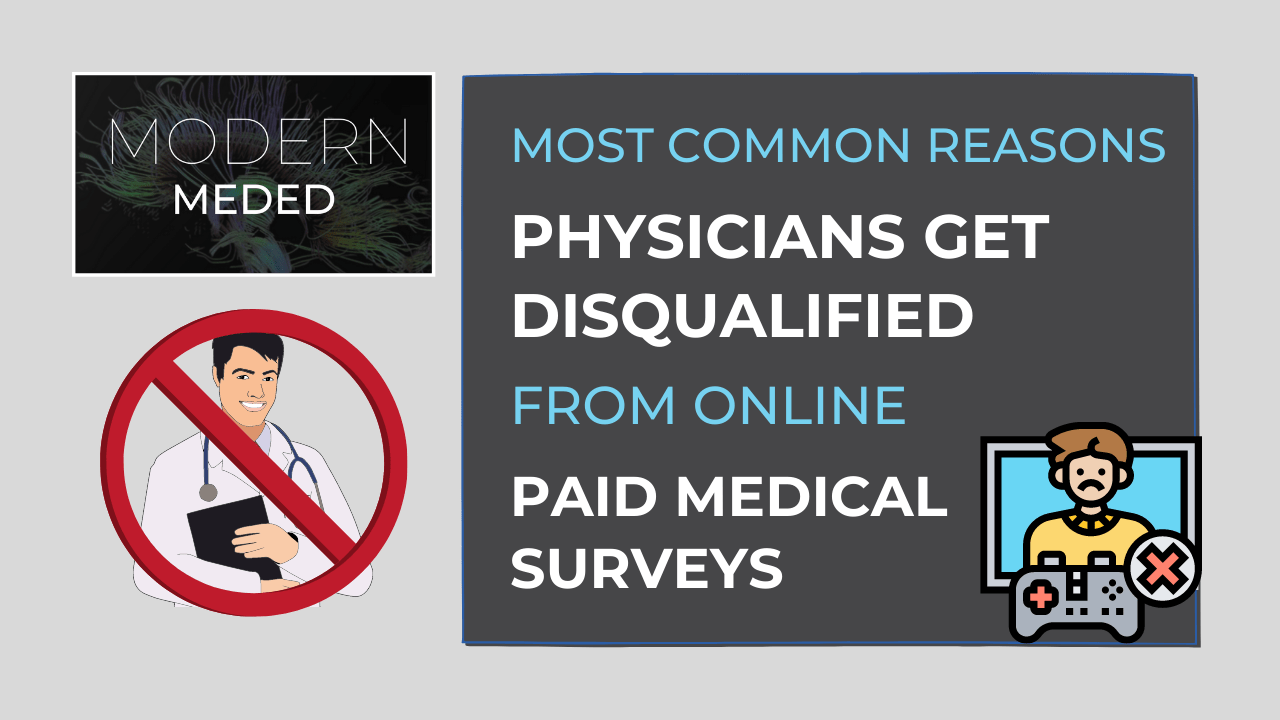 why you never qualify for paid medical surveys