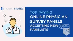 paid physician surveys online