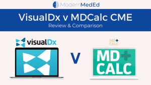 Visualdx v MDCalc CME 2021 Review Comparison