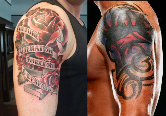 Wrestlers With (Bad) Tattoos (2/6)