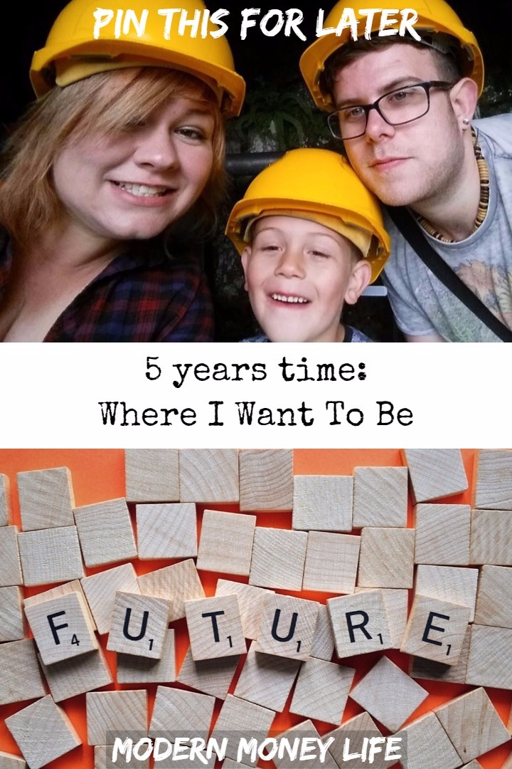 5 years time: Where I Want To Be
