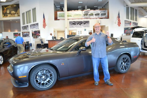 Chicago Firefighter Wins Dodge Challenger Through FCA National Vehicle Giveaway
