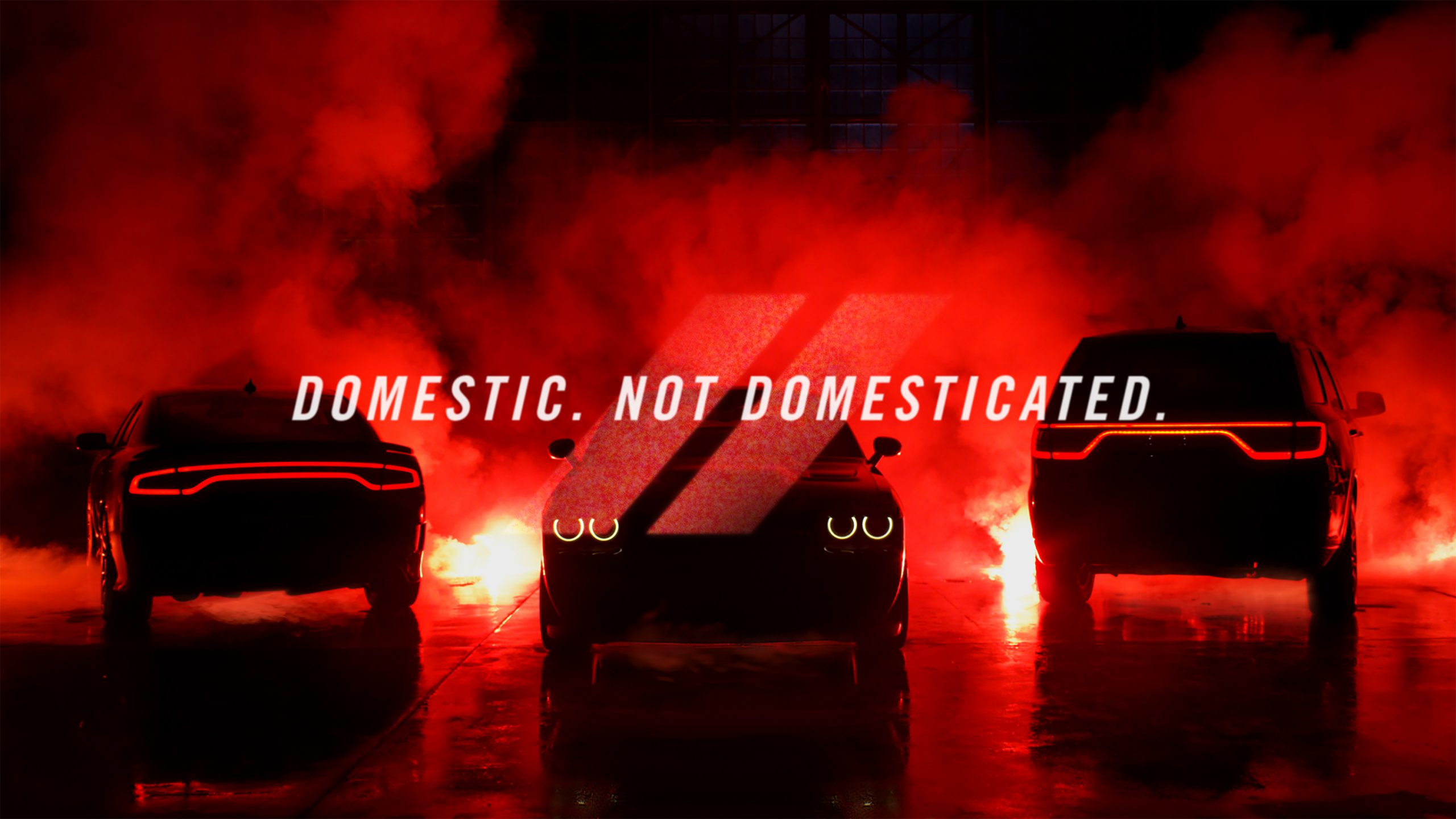 Dodge & SRT Unleash Their Power with New Tagline: 'Domestic. Not Domesticated.'