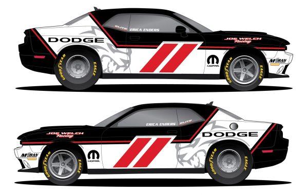 Erica Enders to Race Mopar Dodge Challenger Drag Pak in Factory Stock Showdown at U.S. Nationals