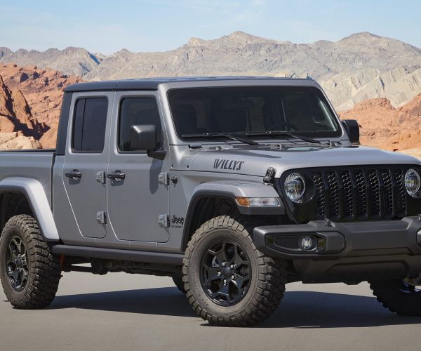 2021 Jeep® Gladiator Willys Debuts With Unique Content and Increased Capability