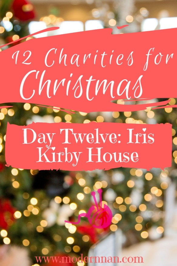 Modern Nan 12 Charities For Christmas Iris Kirby House
