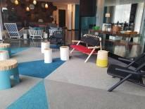 Alt Hotel St. John's Lobby   Modern Nan Travel Blog
