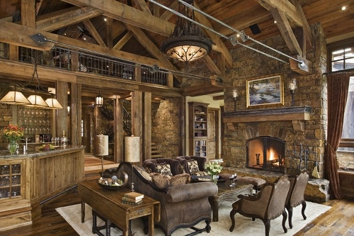 10 Rustic Home Decor Ideas: Let Nature into Your Home on Rustic Traditional Decor  id=94953