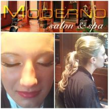 Prom Updo & Make Up