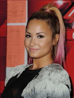 Demi Lovato Pink Color Melt
