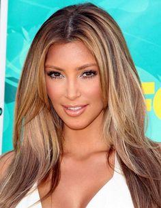 Kim Kardashian Partial Highlight