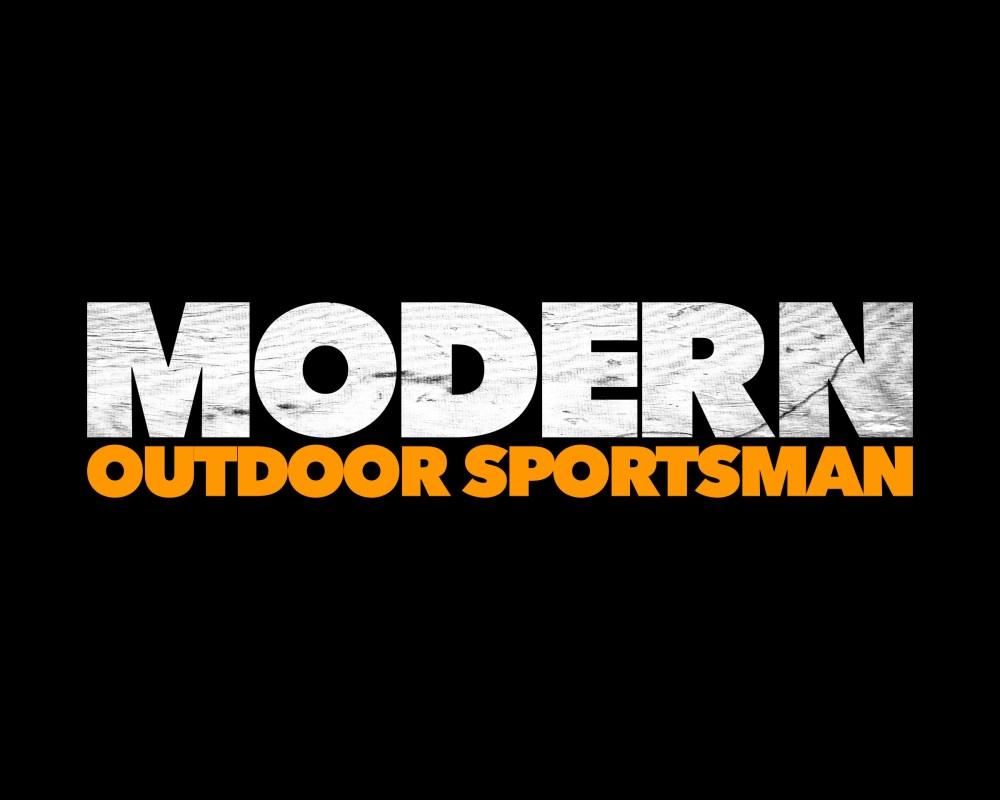 Modern Outdoor Sportsman Logo