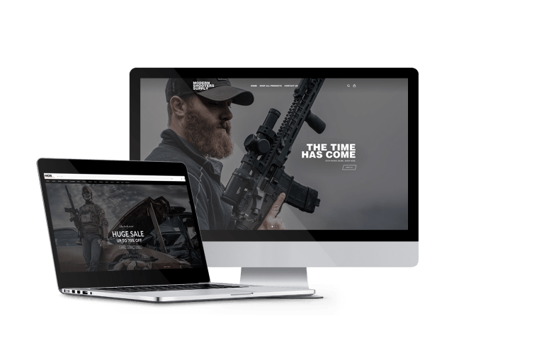 Outdoor Website Theme