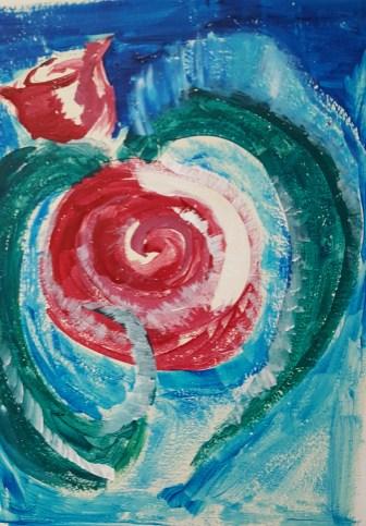 Space Rose 1