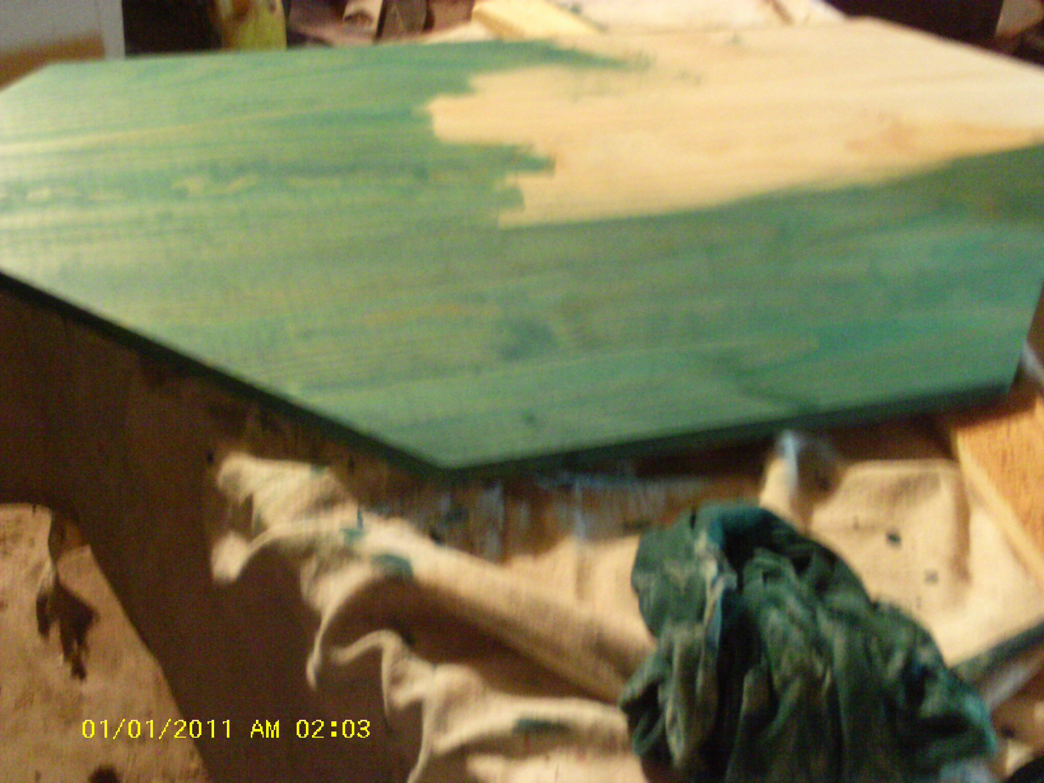 Green Colored Wood Stain Building Pdf Plans Diy Modern