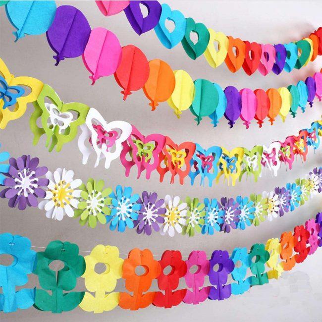 สามารถทำจากกระดาษหลากสี