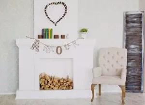 Como fazer uma lareira do papelão com suas próprias mãos (fotos +90): instruções passo a passo e master classes