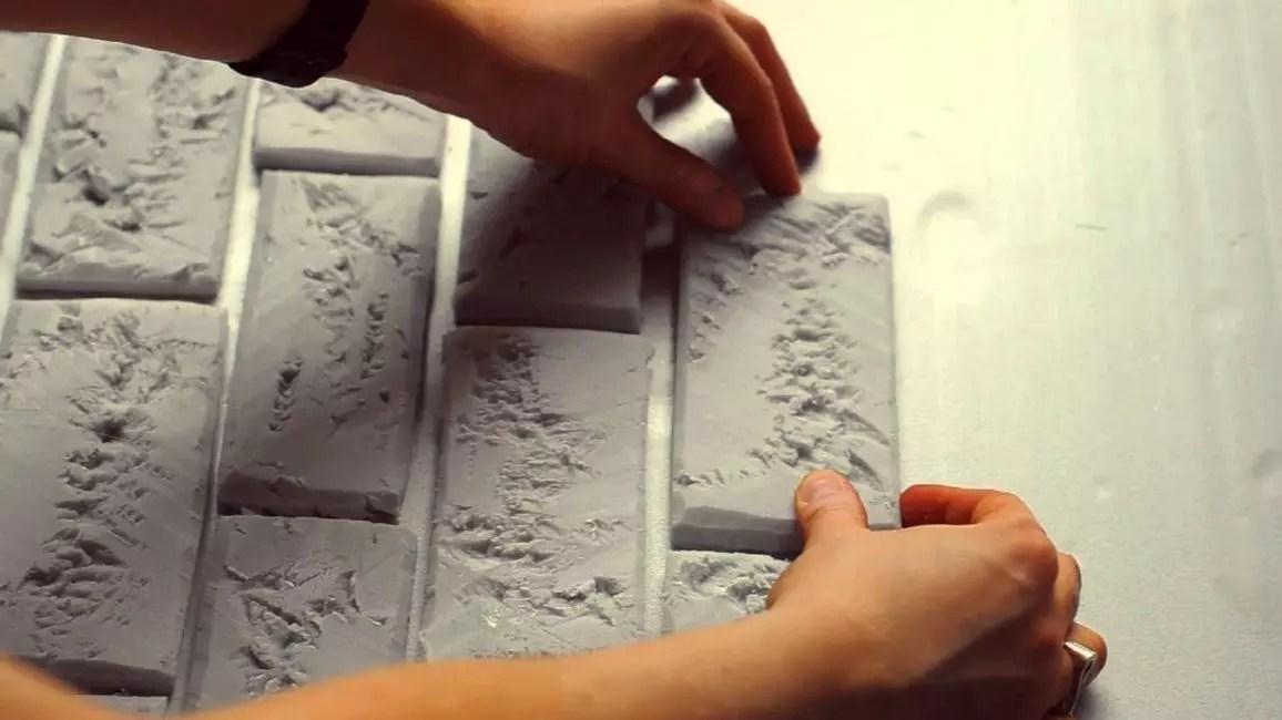 Dekorativ mursten gør det selv