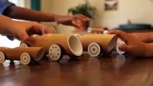 L'artisanat de matériau naturel Faites-le vous-même à la maternelle et à l'école (+180 photos). Idées belles et créatives pour les enfants