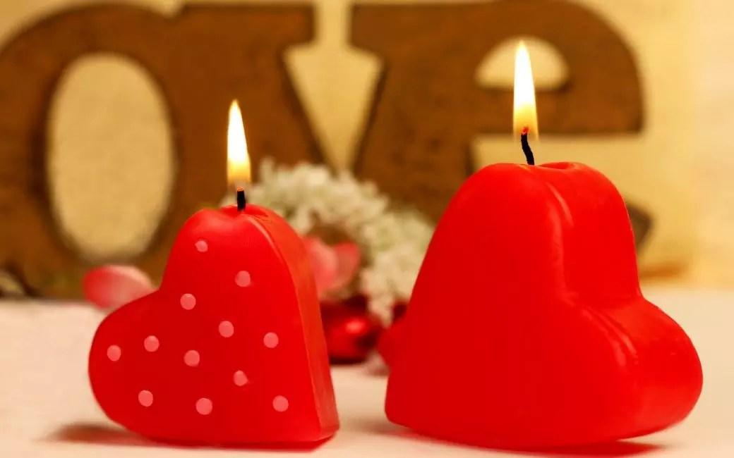 Ароматные свечи для романтичной обстановки