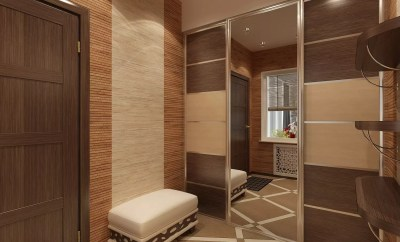 дизайн коридора в квартире фото реальные в панельном доме 5