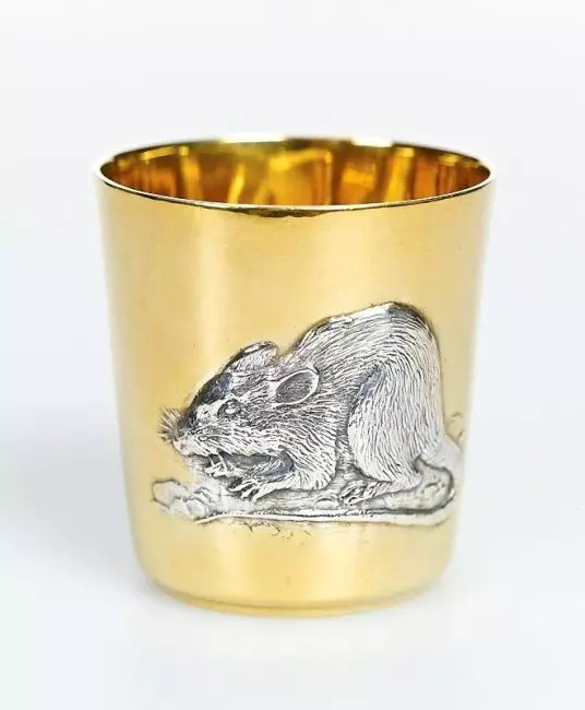 And this is a cup of rat. Such you can put on your table or give someone to the new year.
