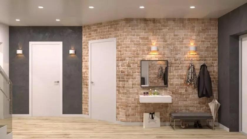 дизайн коридора фото 2019 современные идеи в квартире 7