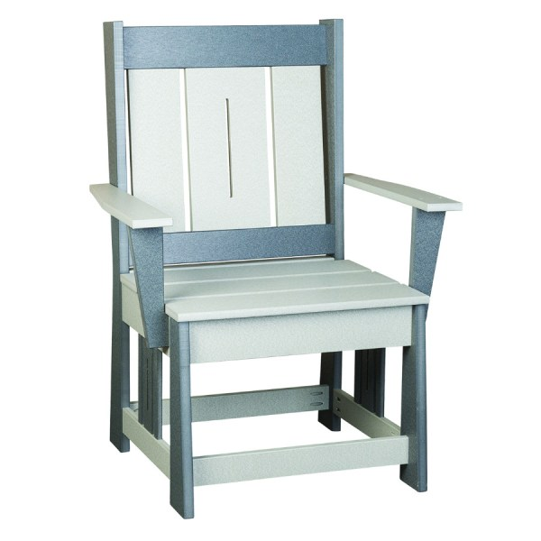 Mission Arm Chair with Slats