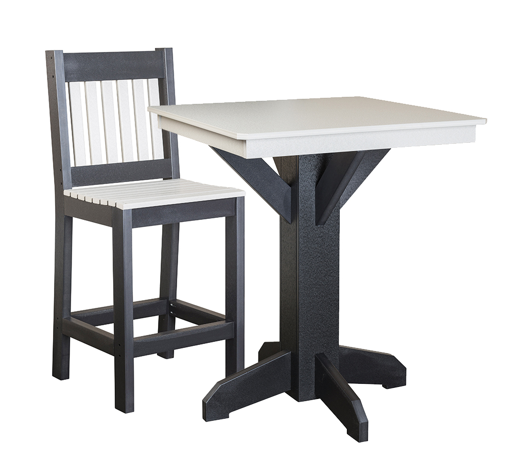 Pub Table with Bar Chair