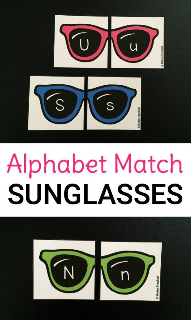 Free Alphabet Match Sunglasses