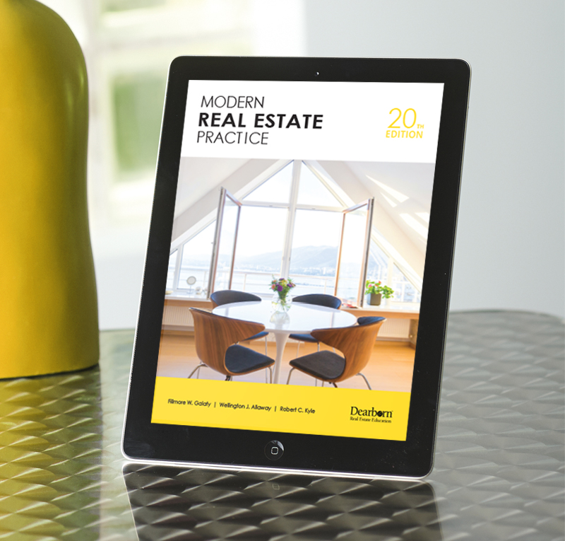 Modern Real Estate Practice, 20th Edition Enhanced Ebook
