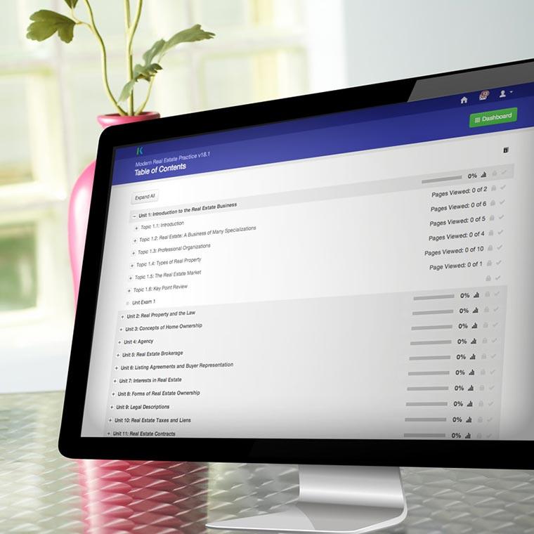 Modern Real Estate Practice Online, Version 20 0 – Modern