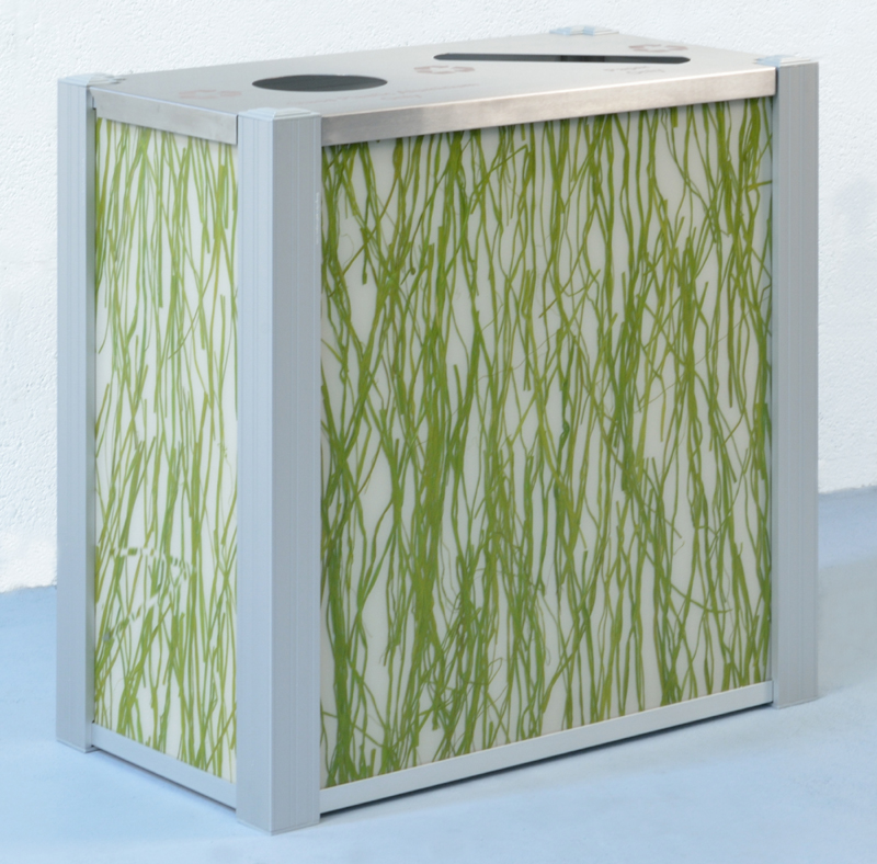 3Form Seaweed Recycling Bin by DeepStream