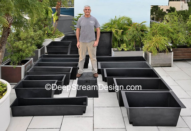 DeepStream 16 rugged waterproof Planter Liners