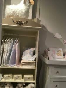 The Baby cot shop custom design