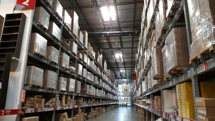 warehouse improvements and Outsourcing fulfilment