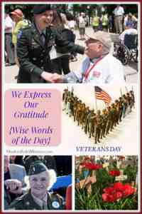 We Express Our Gratitude – Remembrance Day