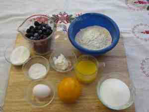 Ingredients for Fruit Pudding ModernRetroWoman.com