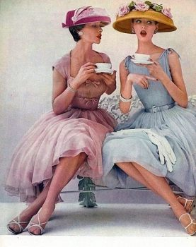 Chemstrand nylon ad, 1956; image courtesy of My Vintage Vogue via Vintage Vixen/Elizabeth on Pinterest.com