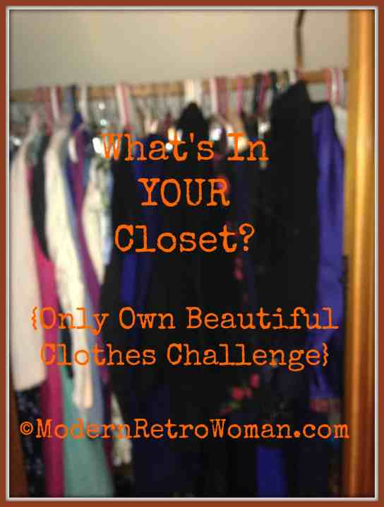Crowded Clothes Closet