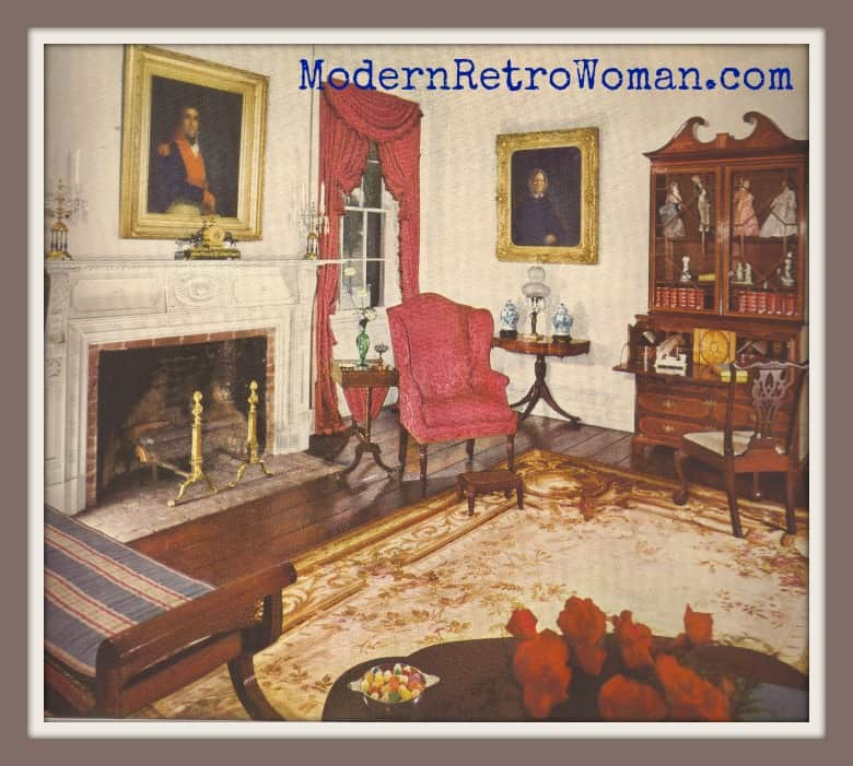 Traditional American decoration from Ladies' Home Journal Book of Interior Decoration by Elizabeth T. Halsey