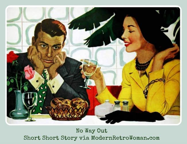 """Source image illustrated by Ben Kimberly Prins for theSaturday Evening Post, 1951, story """"Caution Just Divorced"""" by Michael Fessier. Image courtesy of Today's Inspiration on Facebook"""