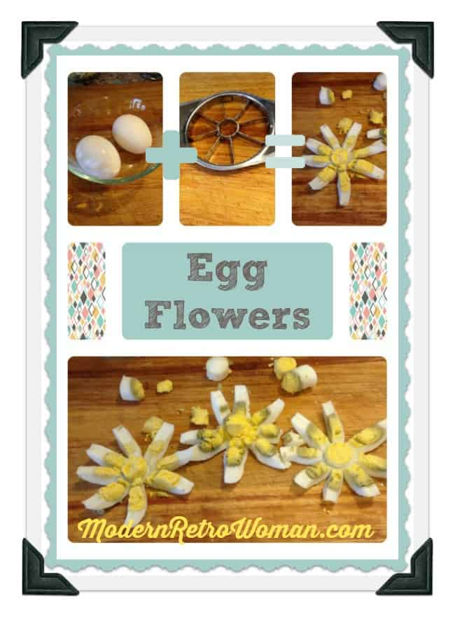 Egg Flowers ModernRetroWomancom