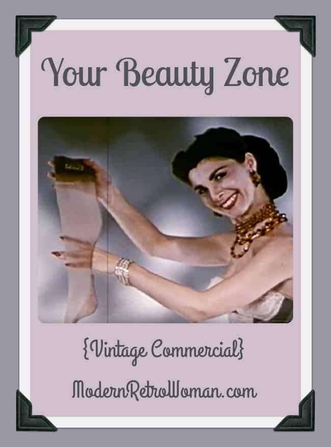 Your Beauty Zone Vintage Commercial ModernRetroWoman.com