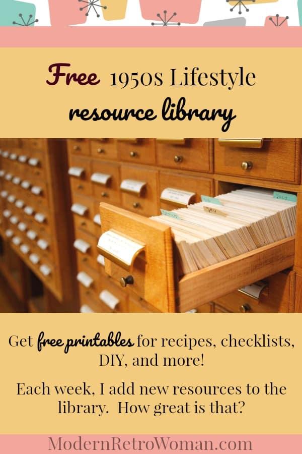Resource Library ModernRetroWomancom