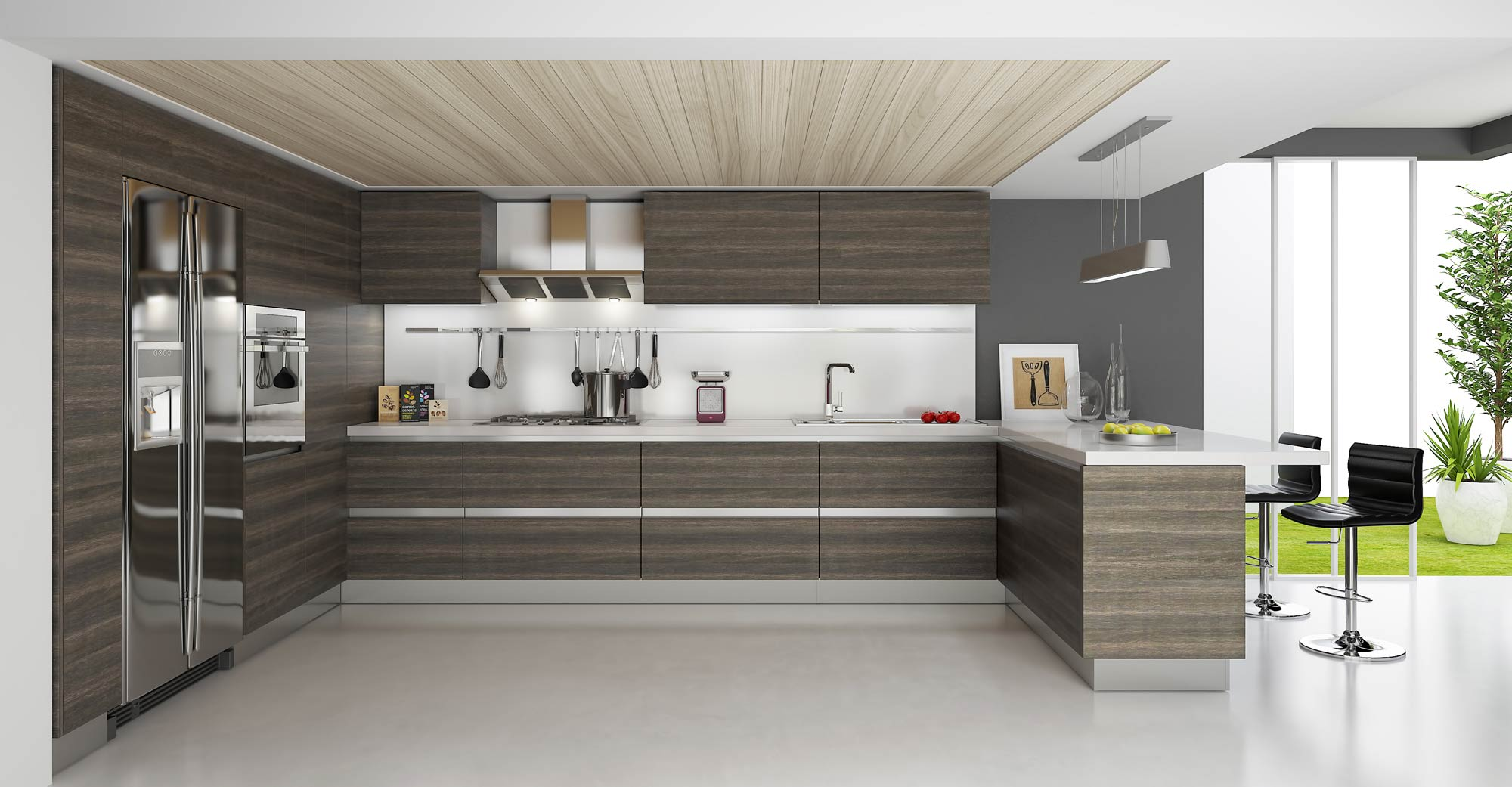 Contemporary and modern kitchens: what is the difference ... on Modern Kitchens  id=77483