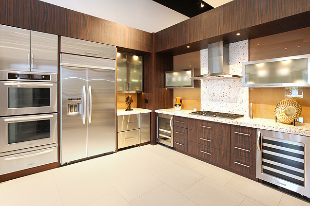 Contemporary and modern kitchens: what is the difference ... on Images Of Modern Kitchens  id=18158